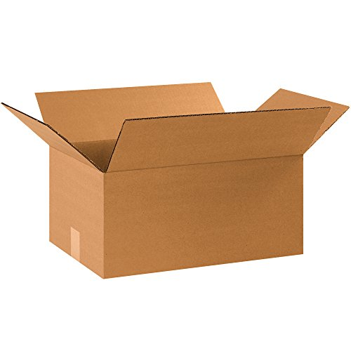 "BOX USA BHD17118 Heavy-Duty Boxes, 17 1/4"" x 11 1/4"" x 8"", Kraft (Pack of 25)"