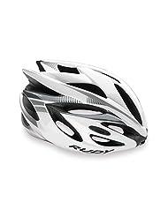 Rush Bike Helmet White-Silver S