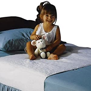 "Saddle Style Soaker Mattress Pad - Will Absorb 6 Cups of Liquid - Made in America (34"" X 36"")"