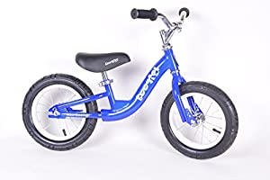 Childrens Boogie Balance Training Bike by Colby Cruisers (Blue w/ white)