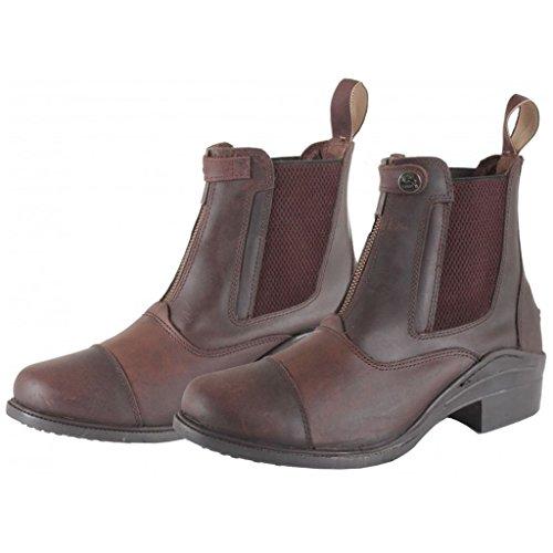 Stivali donna stabile Dena da bambino sneaker lacci e pelliccia stivali da equitazione, Brown, UK 5 / EU 38 / US 7 / AU 7