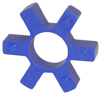 Lovejoy Jaw Coupling, L Type, Jaw Coupling Open Center Elastomer Spider, Urethane