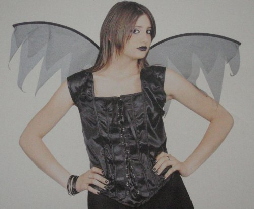 Claire's Halloween Winged Corset Costume
