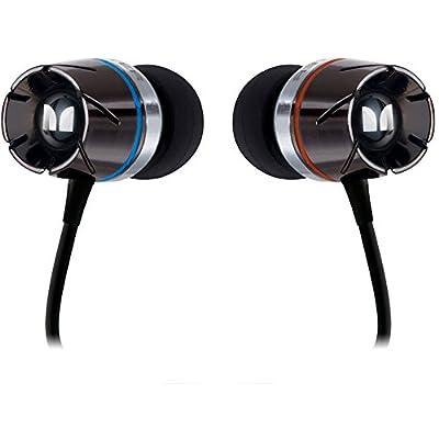 """Monster Turbine High-Performance In-Ear Headphones-Black- """"BULK PACKAGING"""""""