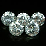 Beta Jewelry 5mm Round CZ AA White Cubic Zirconia Loose Gemstones Lot