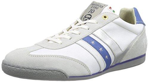Pantofola d'OroLORETO NYLON - Scarpe da Ginnastica Basse Uomo , Multicolore (Mehrfarbig (BRIGHT WHITE / ROYAL BLUE)), 41
