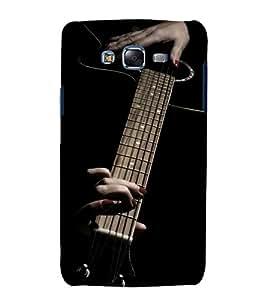 printtech Music Girl Guitar Back Case Cover for Samsung Galaxy Core i8262 / Samsung Galaxy Core i8260