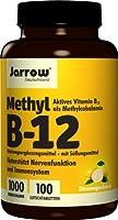 Methyl B-12 1000mcg (Methylcobalamin) 100 pastilles JR (ve