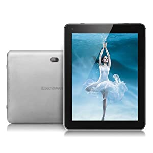 "9.7"" Excelvan Quad Core 16GB Android 4.1 IPS Dual Camera Retina Display External 3G MID Tablet PC by Excelvan"