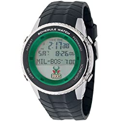 NBA Men's NBA-SW-MIL Schedule Series Milwaukee Bucks Watch