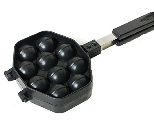 NEW Kitchen Taiyaki Walnut Waffle Pan Maker Cast Home Cooking (Pan Waffles compare prices)