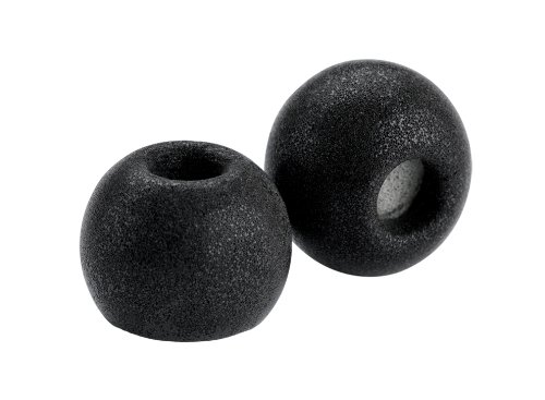 Comply Premium Replacement Foam Earphone Earbud Tips - Comfort Plus Tsx-200 (Black, 3 Pair, Large) (Westone Comply compare prices)