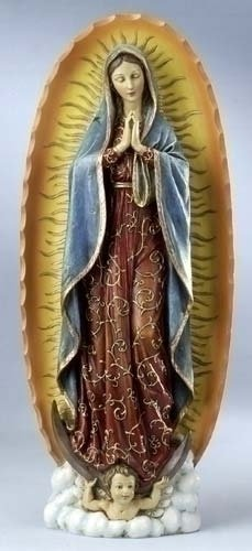 Our Lady Of Guadalupe Religious Statue