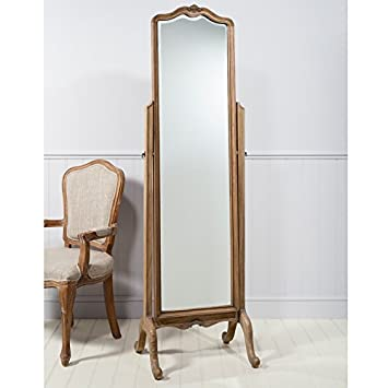 Chic Cheval Mirror Weathered 169x53cm BL-5055299492031
