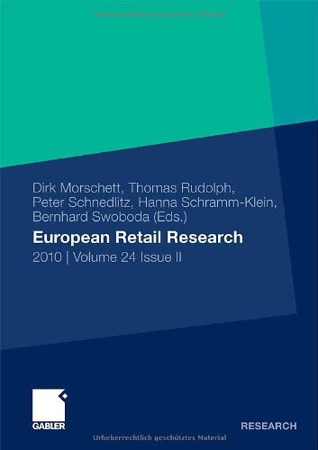 European Retail Research: 2010 | Volume 24 Issue Ii (German Edition)