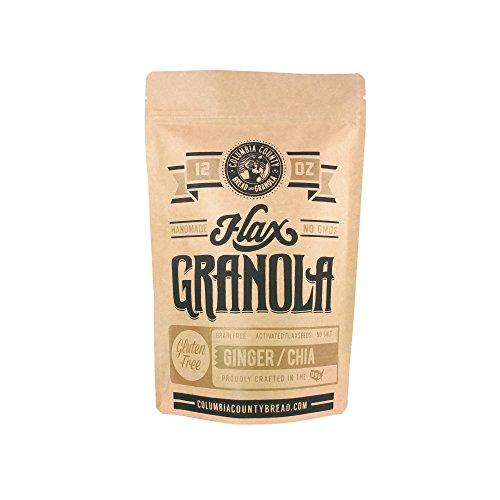 Columbia County Ginger Chia Flax Granola, 12 oz - The Plan Friendly