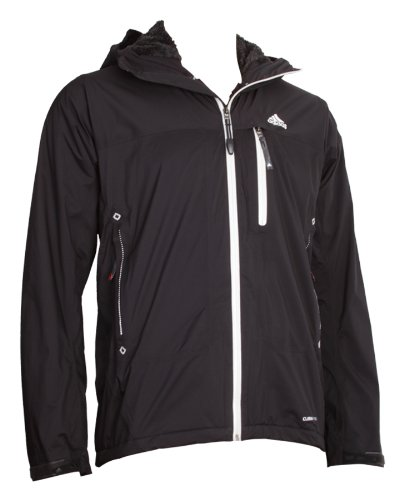 Adidas ST CPS Loft Jacket Mens ClimaProof Storm Outdoor Jackets Summit Outerwear Rainjackets Rain Hiking Trekking Windbreaker windproof waterproof man black S