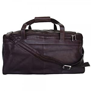 Piel Leather Traveler's Select Small Duffel Bag by Piel Leather