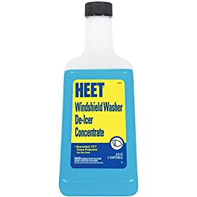HEET KLQ-C Windshield Washer De-Icer Concentrate, 32 Fl oz.