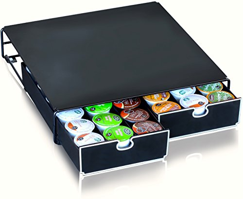 DecoBros K-cup Storage 2 Drawers Holder for Keurig K-cup Coffee Pods (Keurig Coffee K Cups Storage compare prices)