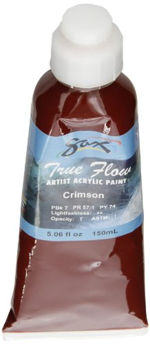 Sax True Flow Artists Acrylic - 150 Milliliters - Crimson