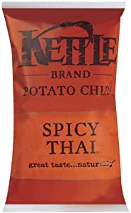 Kettle Chips Spicy Thai, 2-Ounce Bags (Pack of 24)