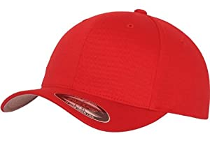 Original FLEXFIT® Baseball Cap in versch. Farben (S/M - bis 58 cm, Red)