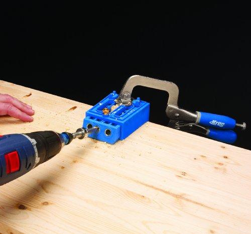 kreg kpdgb jig portable drill guide base kreg jig accessorie
