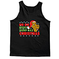 Merry Hump Day Christmas Camel Tank Top
