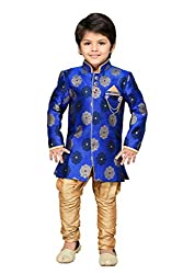 AJ Dezines Kids Indo Western Sherwani Suit for Boys