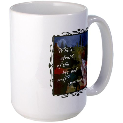 Cafepress Team Jacob Wolf Large Mug Large Mug - Standard