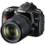 Nikon D90 Digital SLR Camera with 18-105mm VR Lens Kit (12.3MP) 3 inch LCD - (Discontinued by Manufacturer)