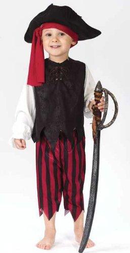 Caribbean Pirate Costume - Toddler