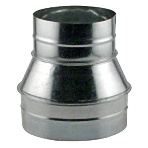 Ideal Air 736211 Duct Reducer 8 6 Ducting Components