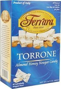 Ferara Torrone Candy, 40-Count