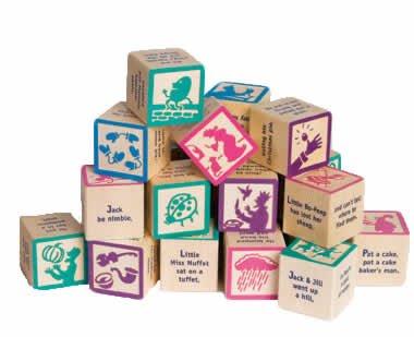 Imagen de Poesía infantil 28 Conjunto de bloques