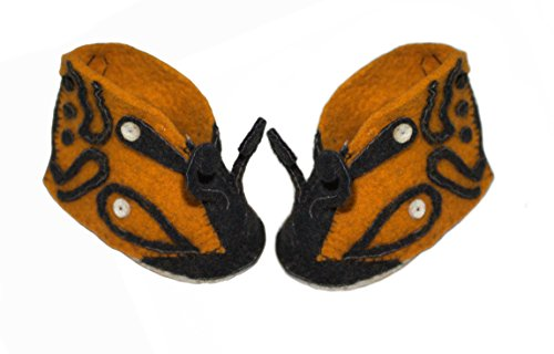 Silk Road Bazaar Zootie, Butterfly, 6-12 Months - 1