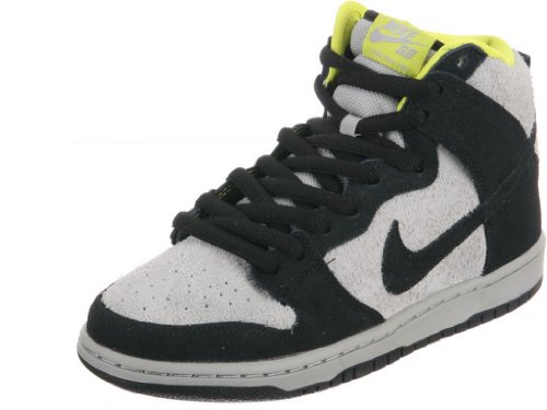 Nike Men'S Dunk High Pro Sb, Black/Black-Base Grey, 9 M Us