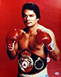 Roberto Duran Autographed Photo - 16x20 #T14804 - PSA/DNA Certified - Autographed Boxing Photos