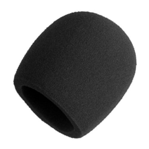 Shure A58Ws-Blk Foam Windscreen For All Shure Ball Type Microphones, Black Color: Black