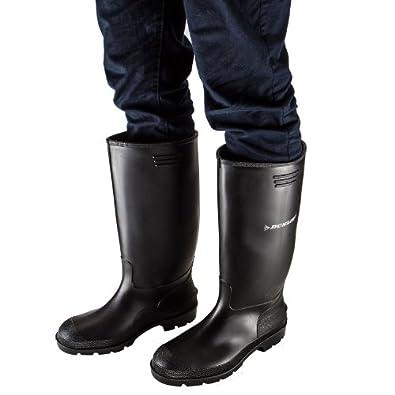 Dunlop Pricemaster Bottes de Pluie Homme: Chaussures et
