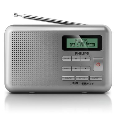Philips AE5010/05 Portable DAB/FM Radio