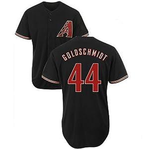 Paul Goldschmidt Arizona Diamondbacks Black Kids Alternate Replica Jersey by Majestic