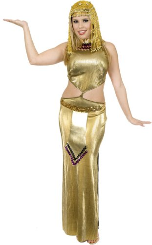Snake Skin Cleopatra Halloween Costume (Small 5-7)