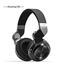 buy Lovebay Folding Portable Over Ear Headset Bluetooth 4.1 Hifi Stereo Support Mic/Micro Sd Card Slot Bass Headset (Black)