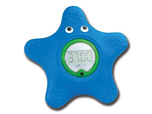 Gima 25567 Termometro da Bagno Stella Marina, Blu