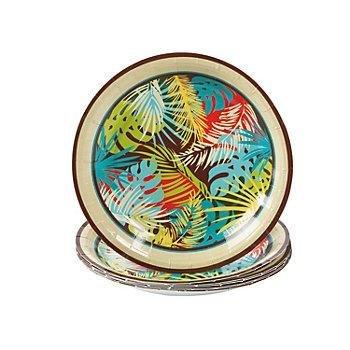 Paper Island Breeze Dessert Plates