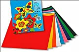 Gummed Paper for Kids Crafts 10 Mid Sized Sheets