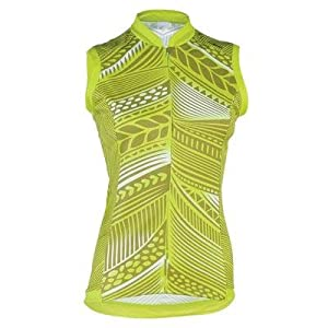 Shebeest 2014 Ladies S-Cut Feather Sleeveless Cycling Jersey - 3310 by Shebeest