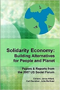 The emergence of the global grassroots economic structural reform movement known as the Solidarity Economy. This book contain the core papers, discussion and debates on the topic at the U.S. Social Forum of 10,000 people in Atlanta in the summer of 2007.